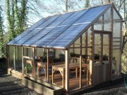 Solar greenhouse business starts to flourish