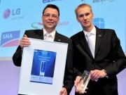 SMA Solar honored at Intersolar Europe 2013