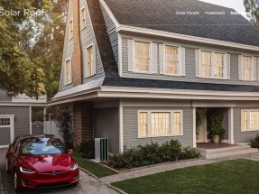 Tesla begins taking orders for its solar roof tile systems