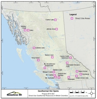 Report finds residents in British Columbia lagging in geothermal energy use
