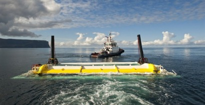 Approval for commercial wave power array on Orkney