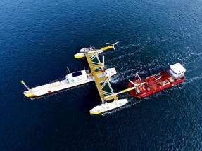 En operaciones la primera plataforma que genera energía con el movimiento de las mareas