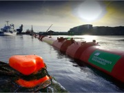 "Power companies charmed by the Pelamis ""sea snake"""
