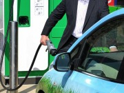 Work continues on UK's first motorway rapid charge network