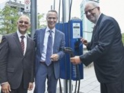 The city of Montréal makes it easier to charge electric cars downtown