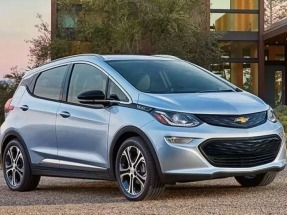 Chevy Bolt Nabs Top Honors at North American Auto Show