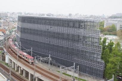 El edificio de los 4.500 paneles solares