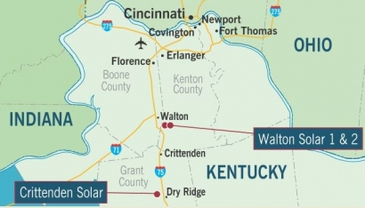 Duke Energy plans its first solar power plants in Kentucky