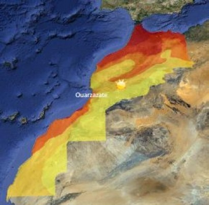 Major European support for first large solar project in North Africa