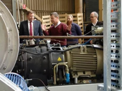 Australian firm develops molten silicon thermal energy storage system