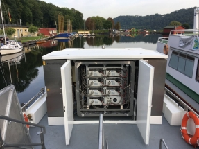 First Methanol Fuel Cell Powered Vessel Now Sailing in Germany
