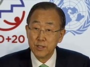 Ban announces over 100 commitments to sustainable energy at Rio+20