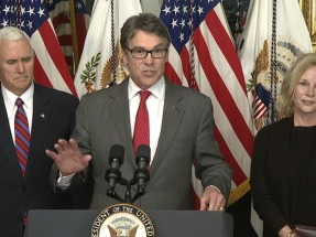 Rick Perry sworn in as U.S. Energy Department secretary