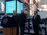 New York City launches solar-powered, public space recycling effort