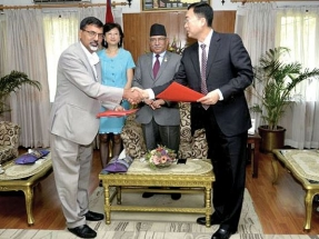Nepal and China to collaborate on hydroelectric project