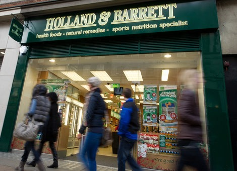 Holland & Barrett to install 100 percent biomass in all its UK stores