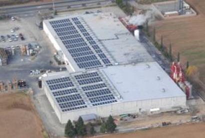 Largest solar water heating system in California installed