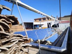 Tecnología Fresnel para abaratar los costes en la industria del corcho