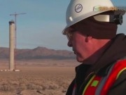 Solarreserve reaches construction milestone, completing tower for groundbreaking project